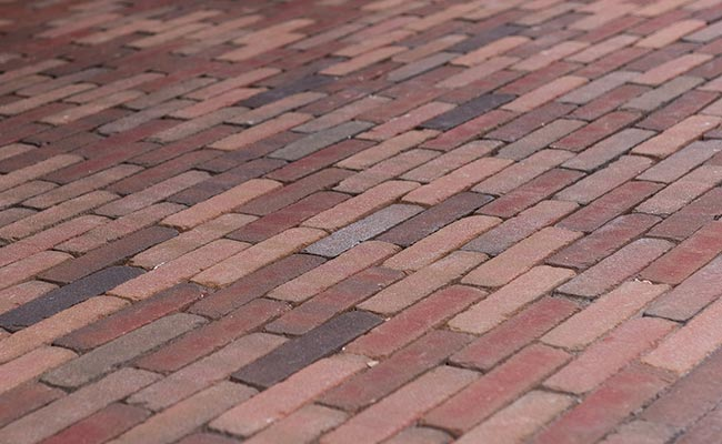 commercial clay paving