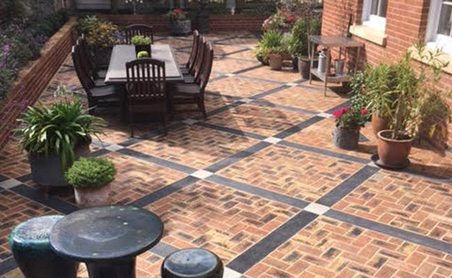 home clay paving