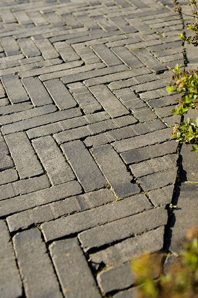 history of pavers