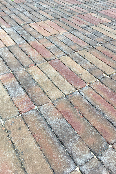 history of paving