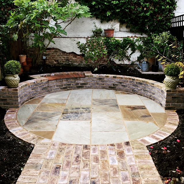 Make a statement in the garden with facing bricks.
