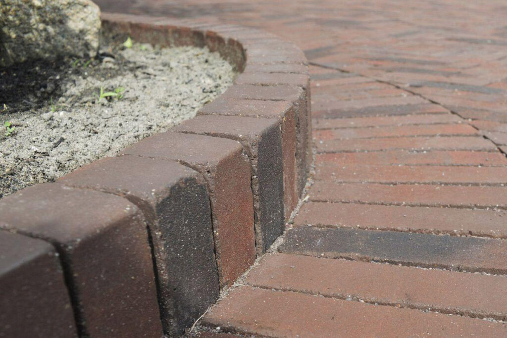 Clay Pavers make the perfect addition to the garden.