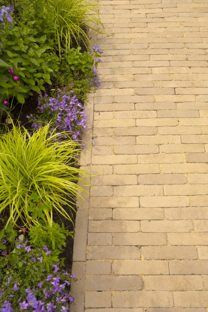 Clay pavers make a charming addition at Hampton Court Palace Garden Festival 2021